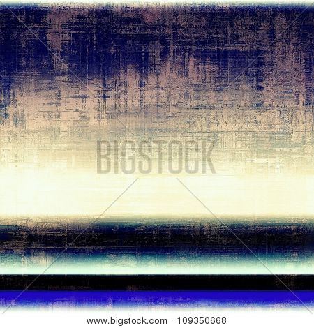 Old background with delicate abstract texture. With different color patterns: yellow (beige); black; blue; purple (violet)