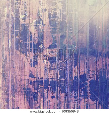 Designed grunge texture or retro background. With different color patterns: blue; purple (violet); pink; gray