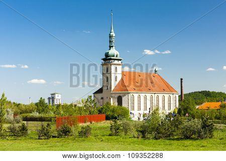 Church of the assumption, Most, Czech Republic
