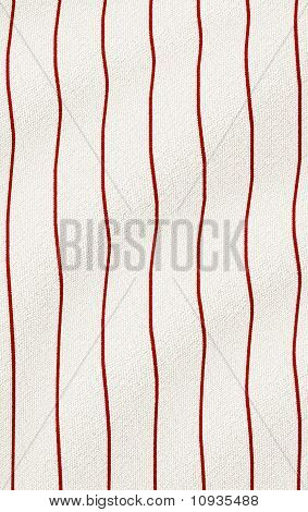 Red Wrinkled Pinstripes