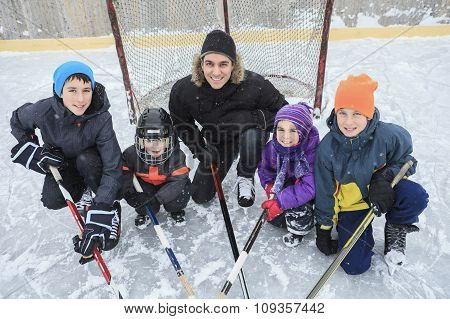 Hockey family