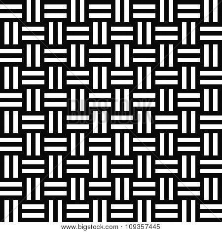 Simple repeating monochrome stripe pattern