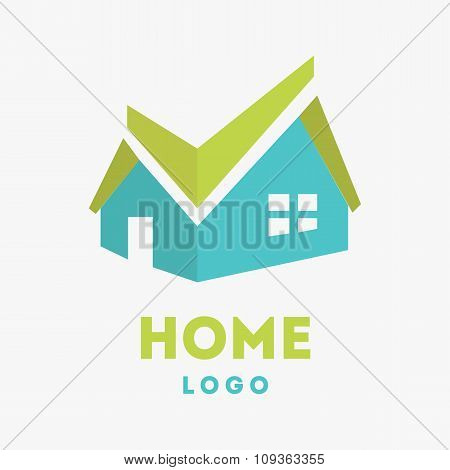 Home Logo icon vector