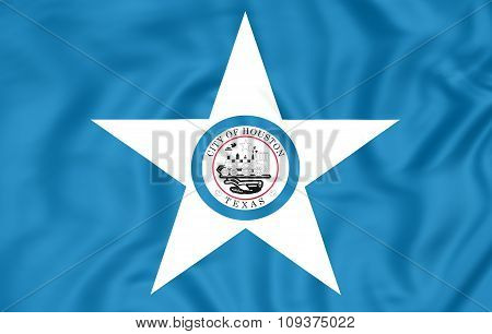 Flag Of Houston (texas), Usa.