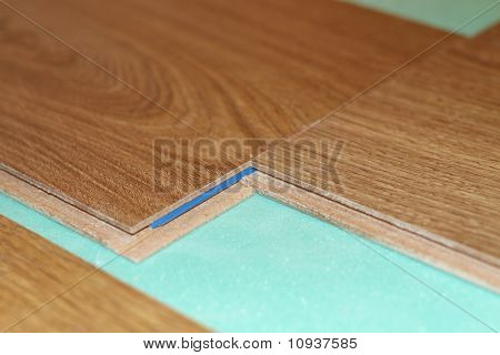 laminate on substrate