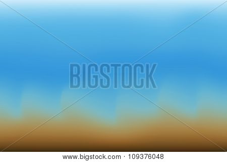 Abstract Blurred Color And Gradient Background