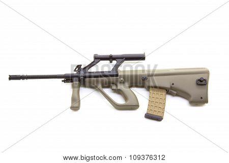 Plastic model gun