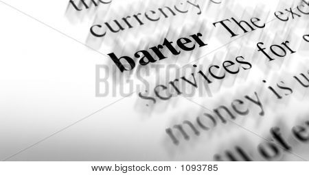 Barter - Business Term