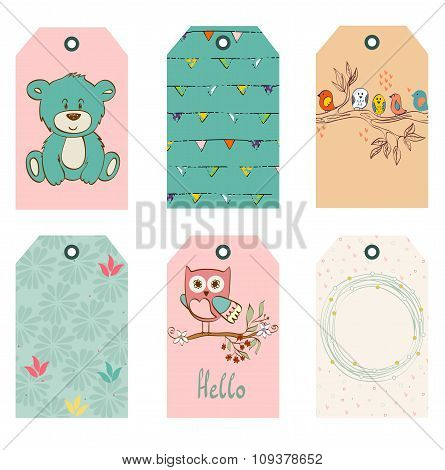 vector children tags