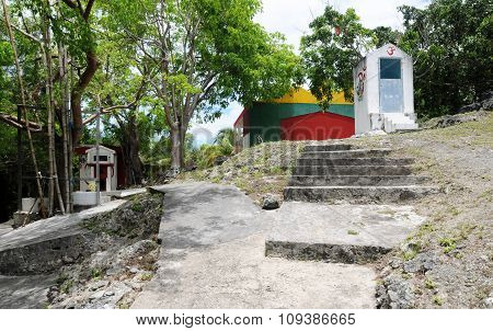 Indian Temple Of Port Louis In Guadeloupe