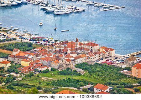 Town Of Seget Aerial View