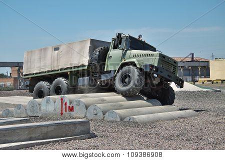 Kraz Army Truck