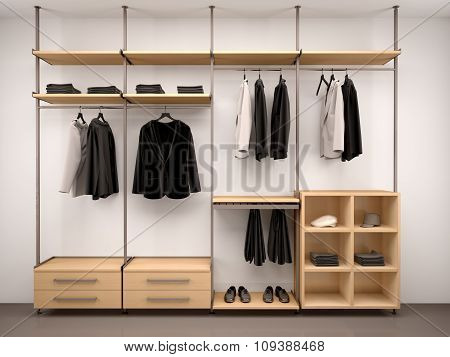 3D Illustration Of Comfortable, Modern Clothes