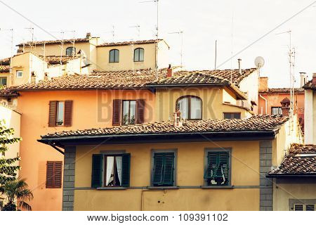 Architecture In Florence, Tuscany, Italy, Cultural Heritage