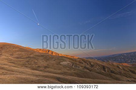 Sunset In The Mountains Khizi.azerbaijan