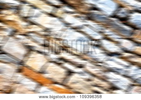 Greece Cracked  Step   Brick In    Old Wall And Texture Material The Background