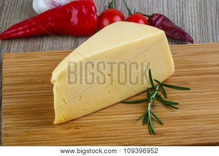 Yellow Cheese Triangle