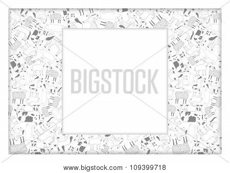 cattle pattern background