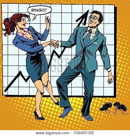 Bingo financial success dance business