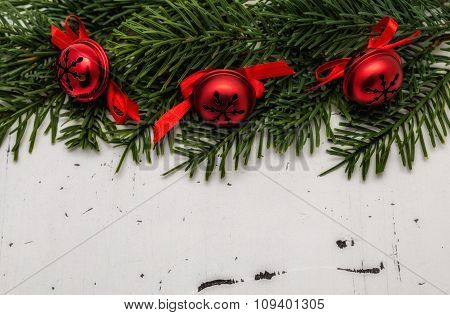 Closeup Of Christmas Decorations