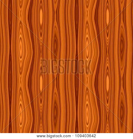 Seamless Wood Texture In Vivid Brown