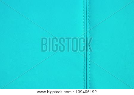 Background Texture Of Light Blue Artificial Leather