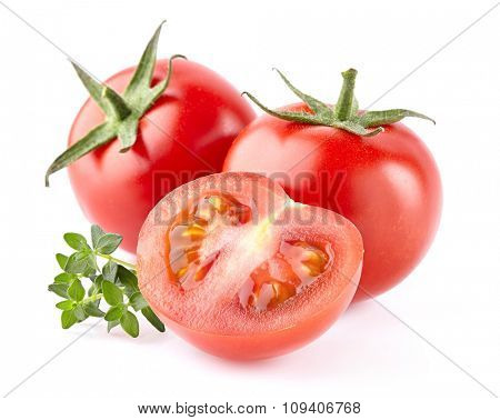 Tomato with thyme