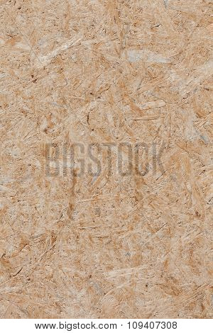 Background Of Compressed Brown Wooden Texture.
