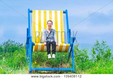 Gigantic Deckchair