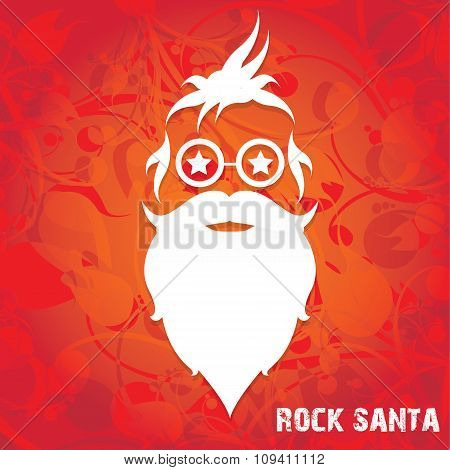 Christmas santa claus beard
