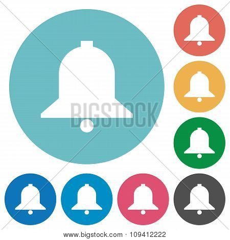 Flat Bell Icons