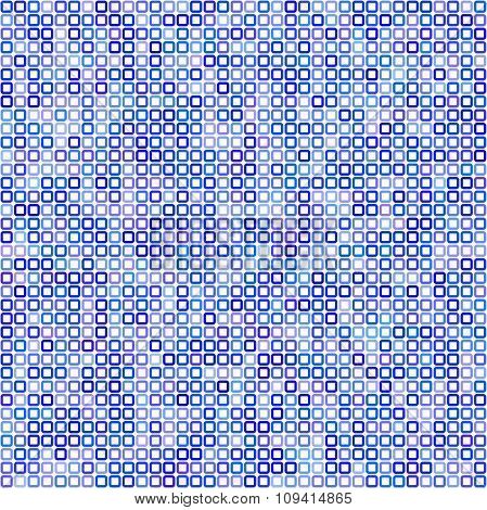Blue square pixel mosaic background