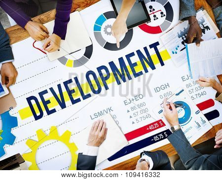 Development Improvement Business Growth Success Concept