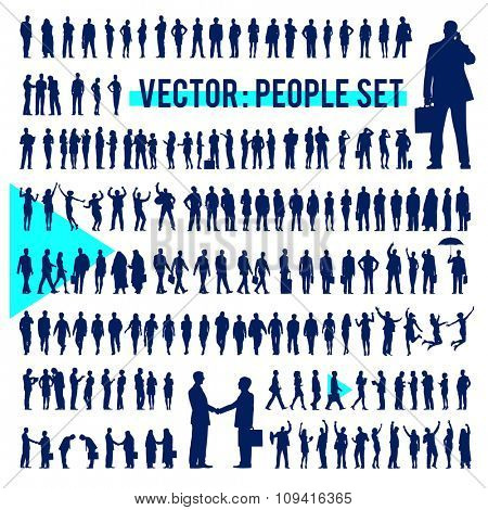 Vector Business People Corporate Company Concept