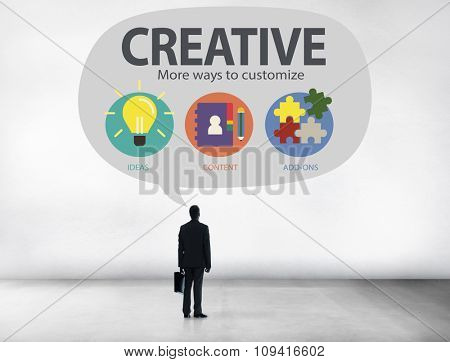 Creative Innovation Vision Inspiration Customize Concept