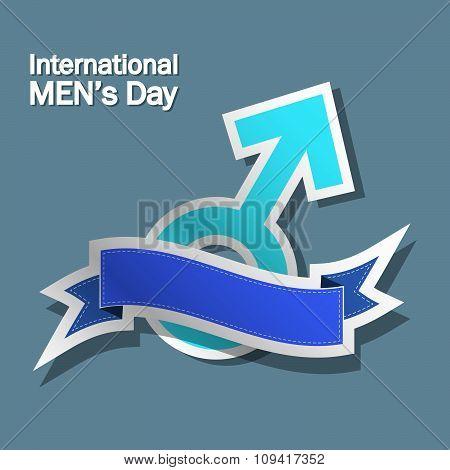 Banner for international men's day