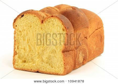 Half Loaf Egg Bread.