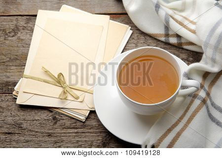 Letters and a cup of tea