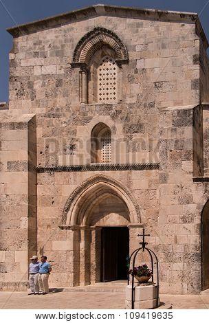 Jerusalem, Israel July 15, 2015: St Anne's Church, Jerusalem