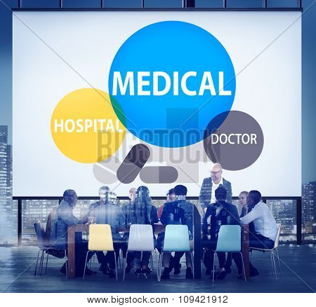 Medical Hospital Health care Wellness Life Concept