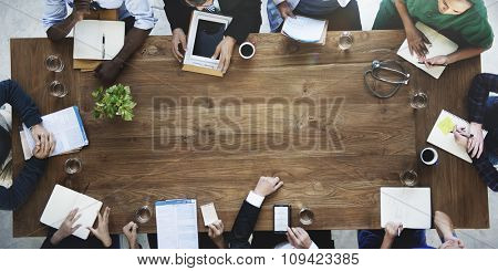 Doctor Meeting Teamwork Diagnosis Health Care Concept