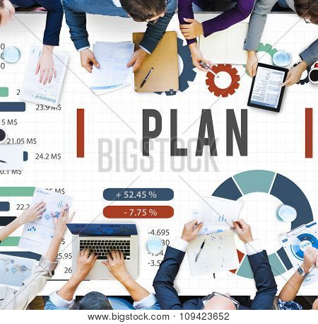 Plan Planning Analysis Business Strategy Concept