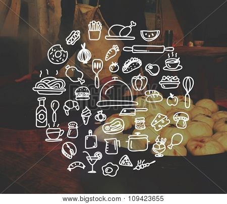 Food Cooking Menu Eating Concept