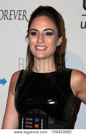 LOS ANGELES - OCT 30:  Alison Haislip at the 2nd Annual UNICEF Masquerade Ball at the Hollywood Forever on October 30, 2014 in Los Angeles, CA