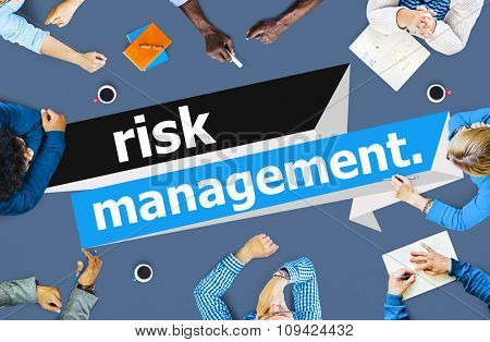 Risk Management Investment Planning Strategy Concept