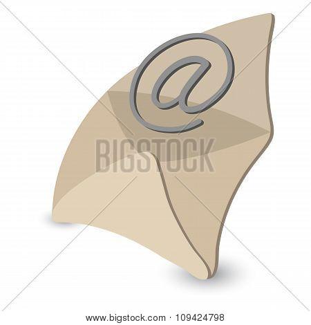 Email cartoon symbol