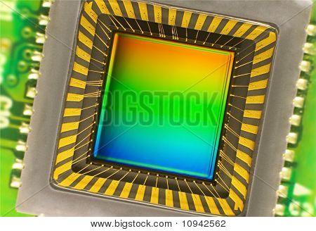 Ccd Sensor On A Card