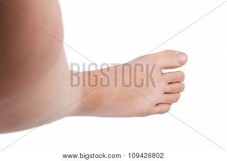 Foot Of Man