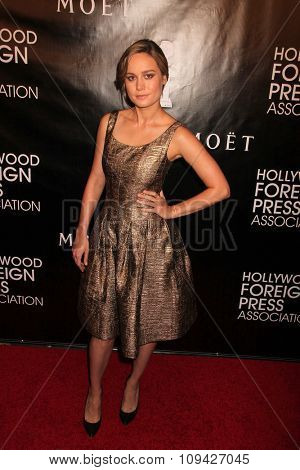 LOS ANGELES - AUG 13:  Brie Larson at the HFPA Hosts Annual Grants Banquet - Arrivals at the Beverly Wilshire Hotel on August 13, 2015 in Beverly Hills, CA