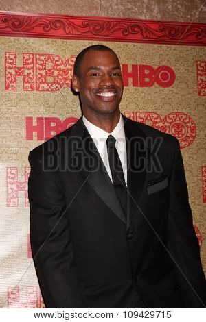 LOS ANGELES - JAN 12:  Jason Collins at the HBO 2014 Golden Globe Party at the Beverly Hilton Hotel on January 12, 2014 in Beverly Hills, CA